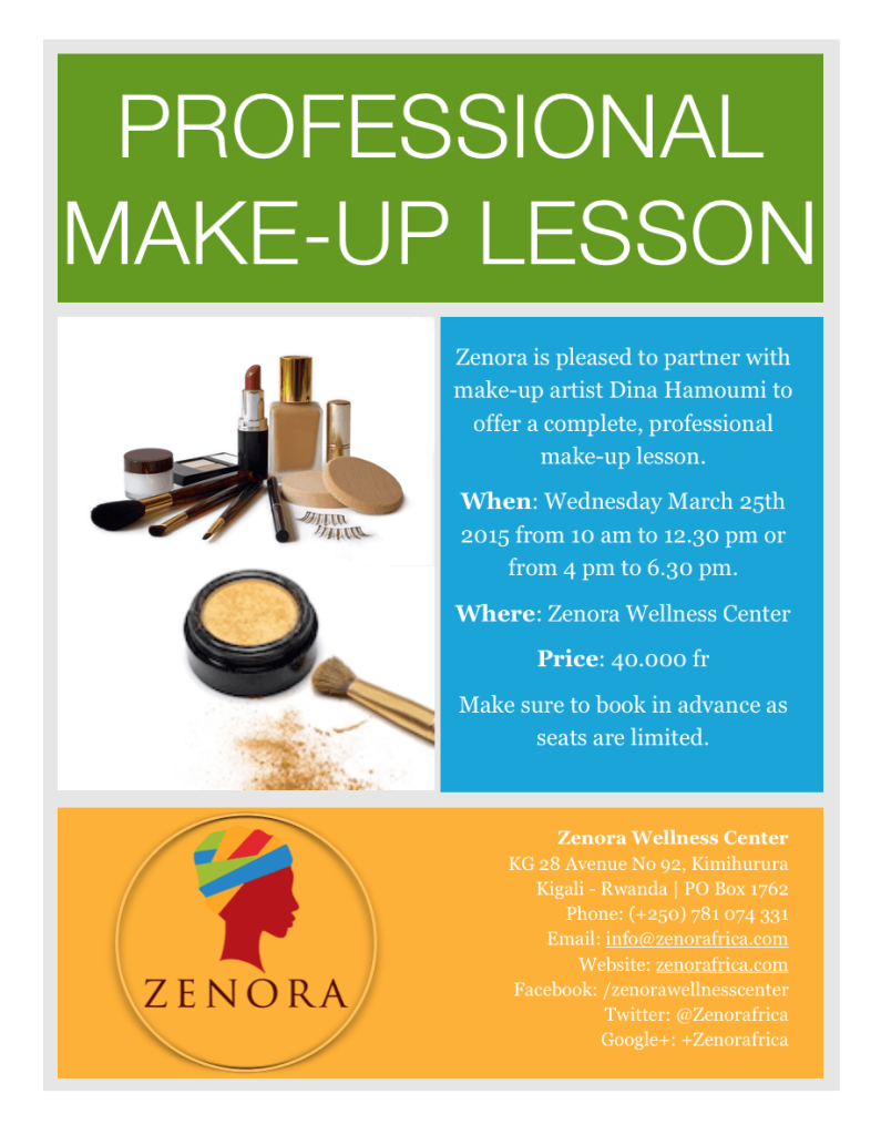 Make-up Lesson - Zenora